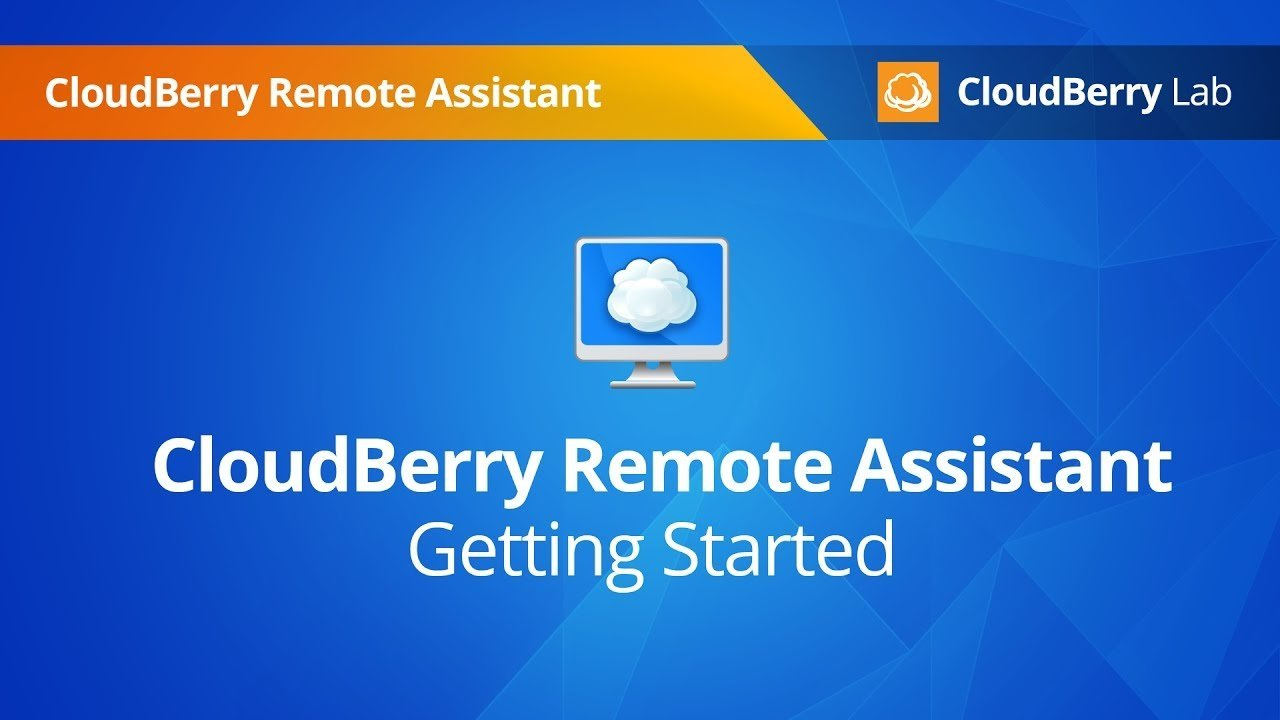 cloudberry remote assistence