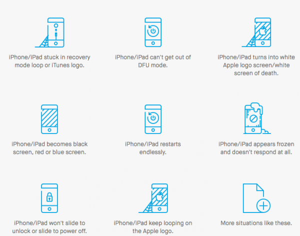 Dr. fone toolkit – iOS System Recovery