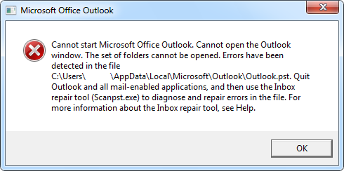 How to repair the Inbox Folder in Outlook