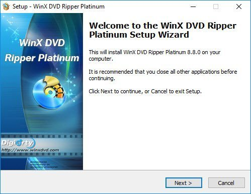 Rip DVD with hardware acceleration