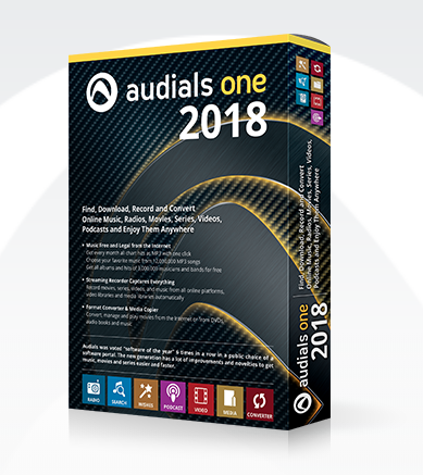 Audials One Windows Software