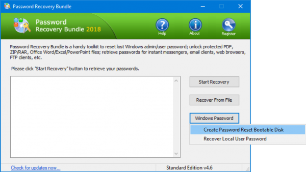 Windows Password Recovery Bundle