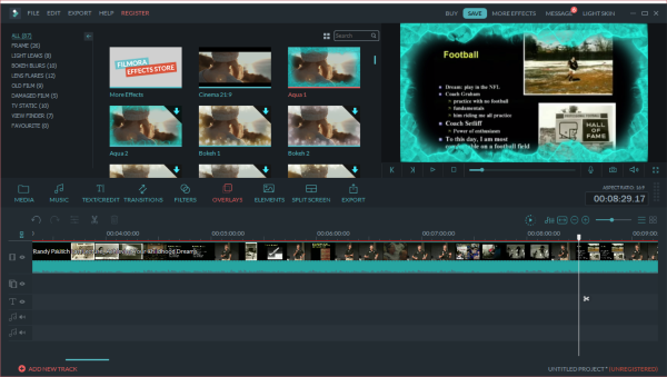 Filmora Video Editor is all in one video editing software