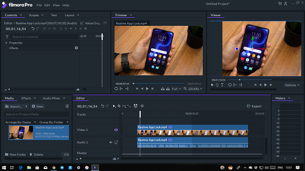 Filmora Pro advanced video editing software