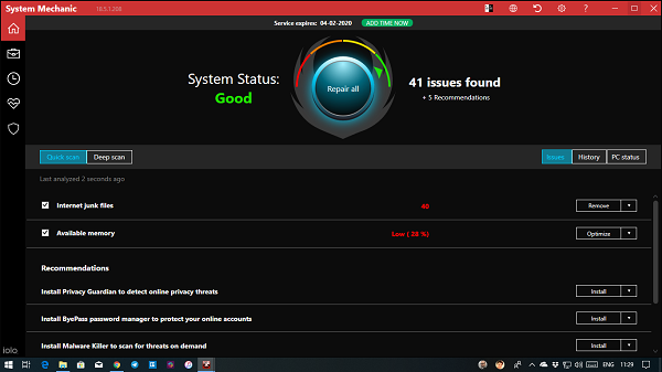 System Mechanic Review: Improve speed and performance of Windows