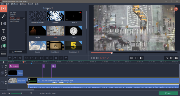 Movavi Video Editor Plus Review