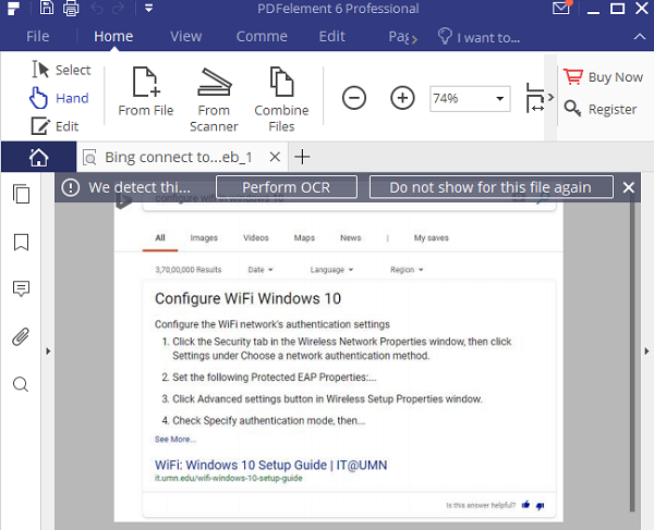 edit PDF on Windows