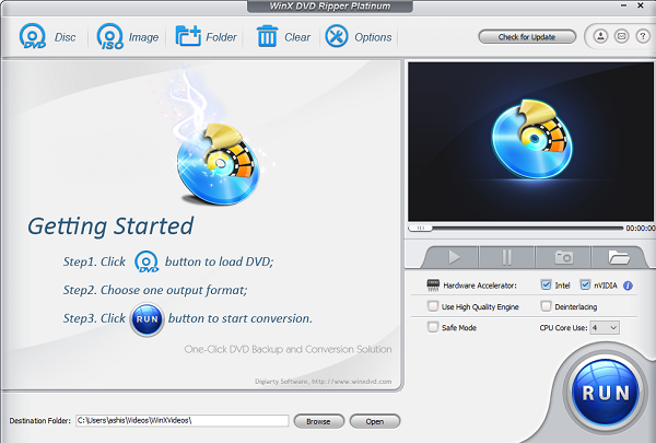 WinX DVD Ripper review