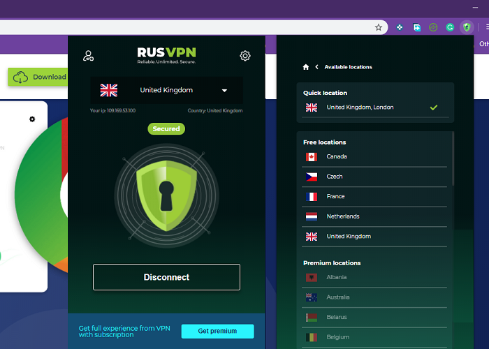 RusVPN—Reliable, Unlimited, Secure VPN Review
