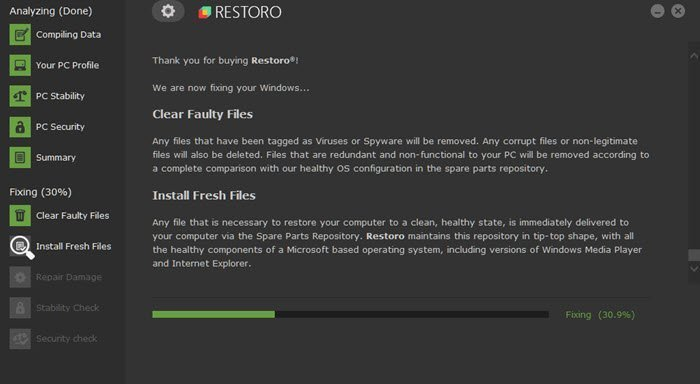 Restoro: Secures and safely repairs any Windows PC