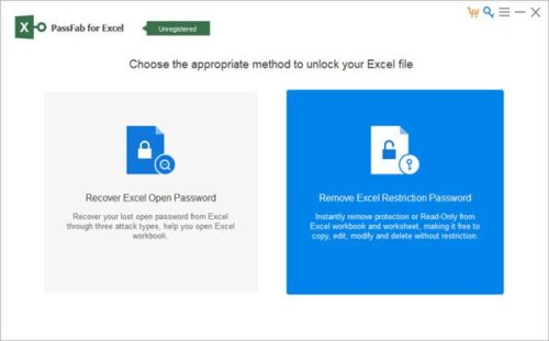 PassFab for Excel_Remove Excel Restriction Password