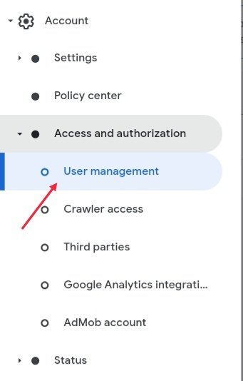 Adsense Account New User Add Settings