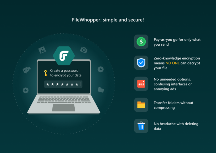 Filewhopper Review - Send Large Files or Folders Online