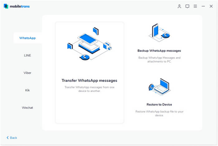 Transfer WhatsApp Data from Android to iPhone